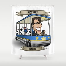 Mice Tours (Tom Cruise) Shower Curtain