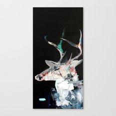 Iced Deer Canvas Print