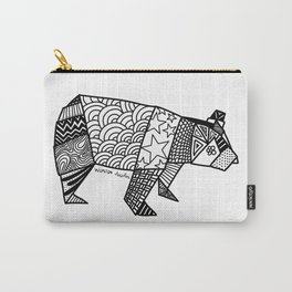 Bear Origami Carry-All Pouch