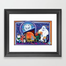 Today in Bethlehem Framed Art Print