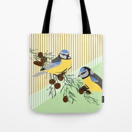two birds in harmonie Tote Bag