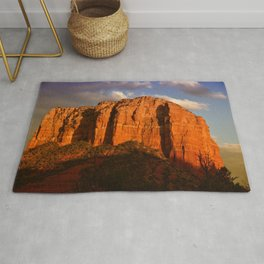 COURTHOUSE ROCK - SEDONA ARIZONA - 2 Rug