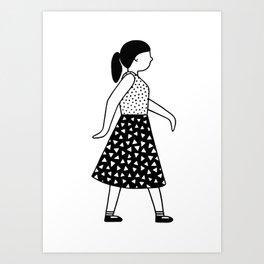 Gerd Girl 2 Art Print