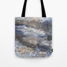 Ocean breathes salty Tote Bag