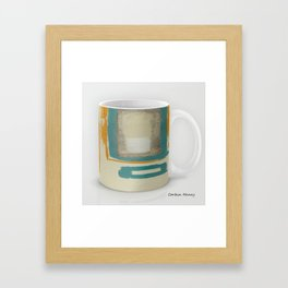 Soft And Bold Rothko Inspired Coffee Mug Modern Art Print Framed Art Print