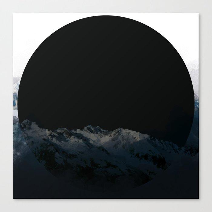 dark moon Leinwanddruck