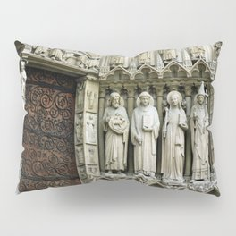 Notre Dame Cathedral Paris Detail Pillow Sham