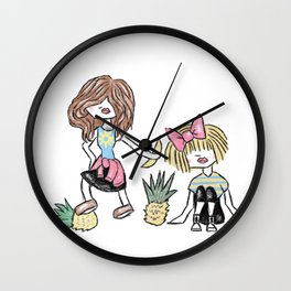 Sarah & Rebecca Wall Clock