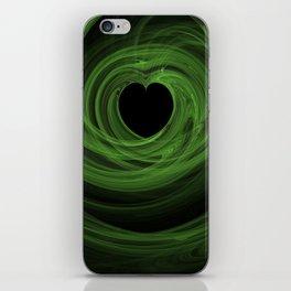 Valentine's Fractal V - Dark iPhone Skin