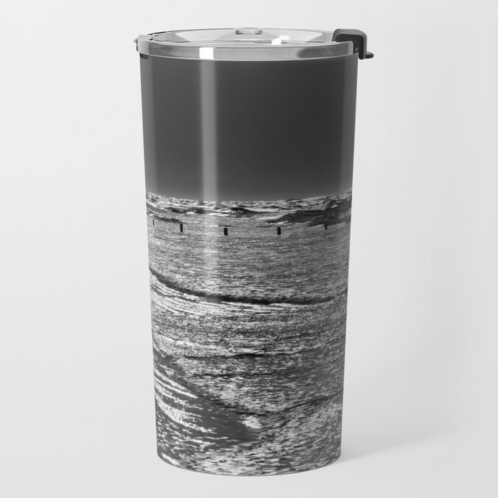 Berrow Beach Travel Mug