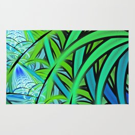Jungle Waterfall Rug