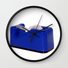 Tape Dispenser Wall Clock