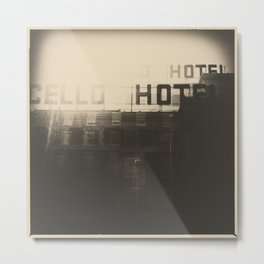 hotel Metal Print