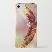 eagle iPhone & iPod Cases featuring Eagle by ron ashkenazi