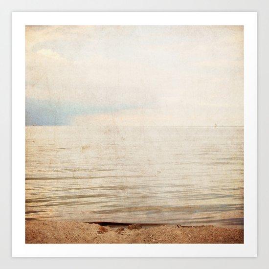 sea square VI Art Print