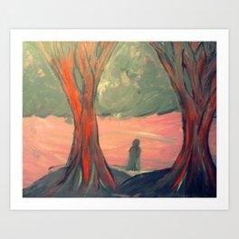 Lonely Soul Art Print