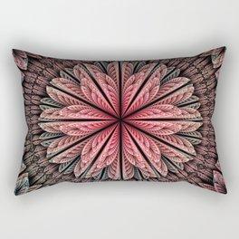 Fantasy flower and petals Rectangular Pillow