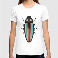 beetle T-shirts featuring Beetle  by Juliana Zimmermann