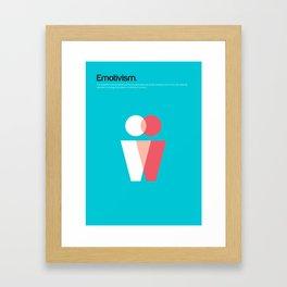 Emotivism Framed Art Print