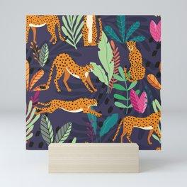 Cheetah pattern 002 Mini Art Print