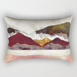 Melon Mountains Rectangular Pillow
