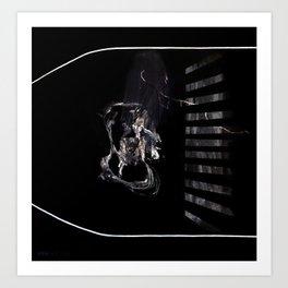 Perception (oil on canvas) Art Print