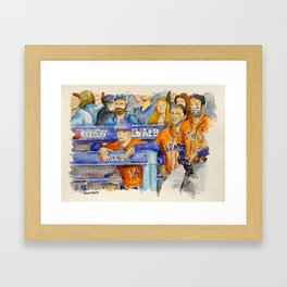 AJ Hinch  – Astros Manager Framed Art Print