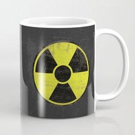 Grunge Radioactive Sign Coffee Mug