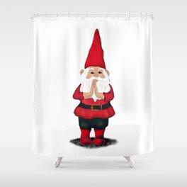 Hangin with my Gnomies - Namaste Shower Curtain