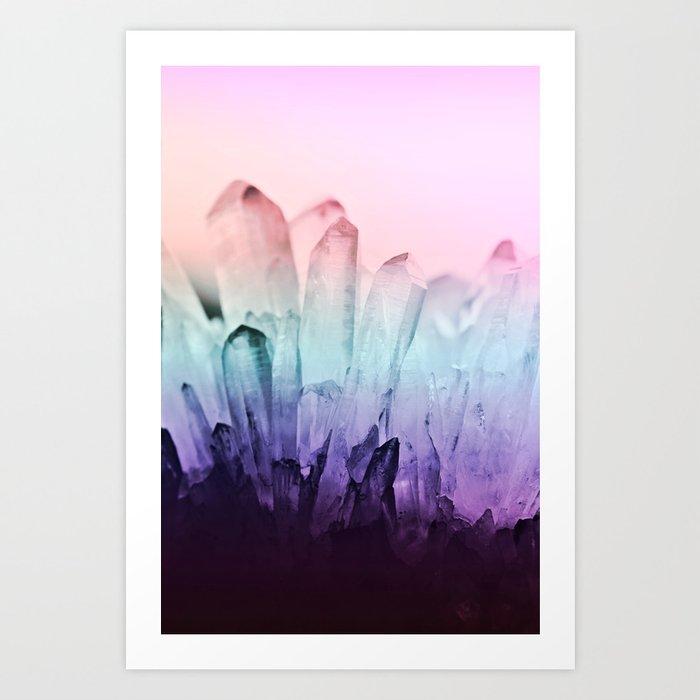 FESTIVAL RAINBOW CRYSTAL Kunstdrucke