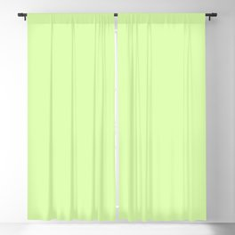 Spring - Pastel - Easter Green Solid Color Blackout Curtain