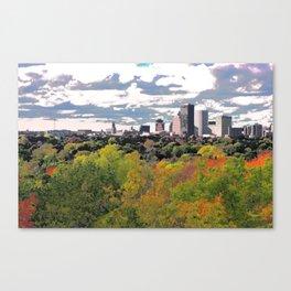 Flour City in Fall Canvas Print
