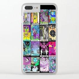 Tarot Major Arcana Clear iPhone Case