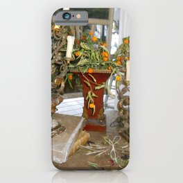 French Still Life iPhone Case