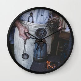 The Way It Used To Be Wall Clock