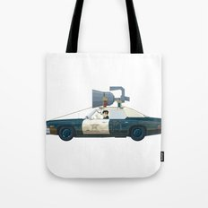 The Blues Brothers Bluesmobile 1/3 Tote Bag