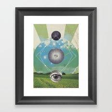 UNIVERSOS PARALELOS 006 Framed Art Print