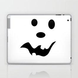 Scared Jack O'Lantern Face Laptop & iPad Skin