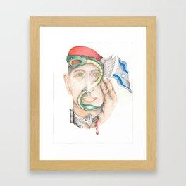 Israeli Paratrooper Framed Art Print
