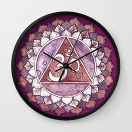 Crown Chakra Sahasrara Wall Clock