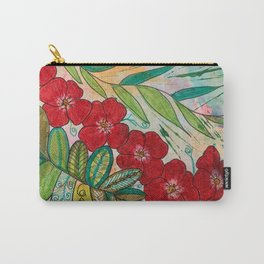 Poppy Trails Carry-All Pouch