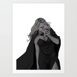 Wanheda Art Print