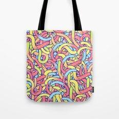Gummi Worms Tote Bag