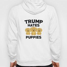 Trump Hates Puppies Hoody