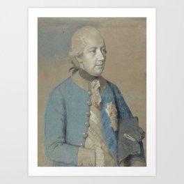 Portrait of Joseph II of Austria (1741-90), Roman-German emperor and later king of Hungary and Bohem Art Print