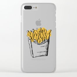 "THERE'S NO ""WE"" IN FRIES Clear iPhone Case"