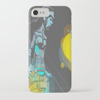 android iPhone & iPod Cases featuring Android by MozaicPieces