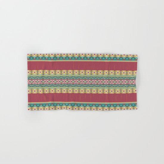 Aztec Art Hand & Bath Towel