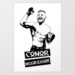 UFC Conor Mcgregor Art Print