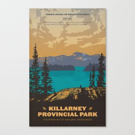 Killarney Park Poster Canvas Print